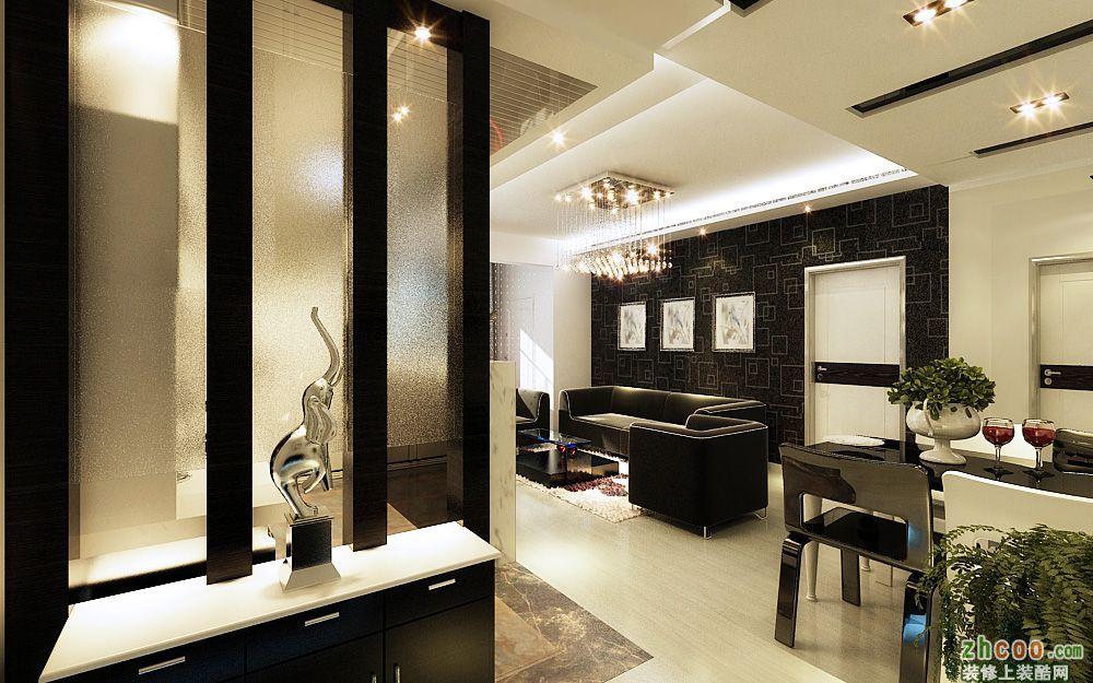 海富金棕榈 现代风格 两室一厅一卫
