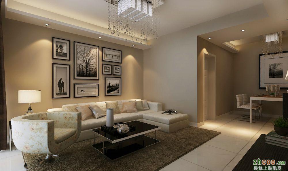 5.6万-美寓华庭95�O-欧式风格效果图
