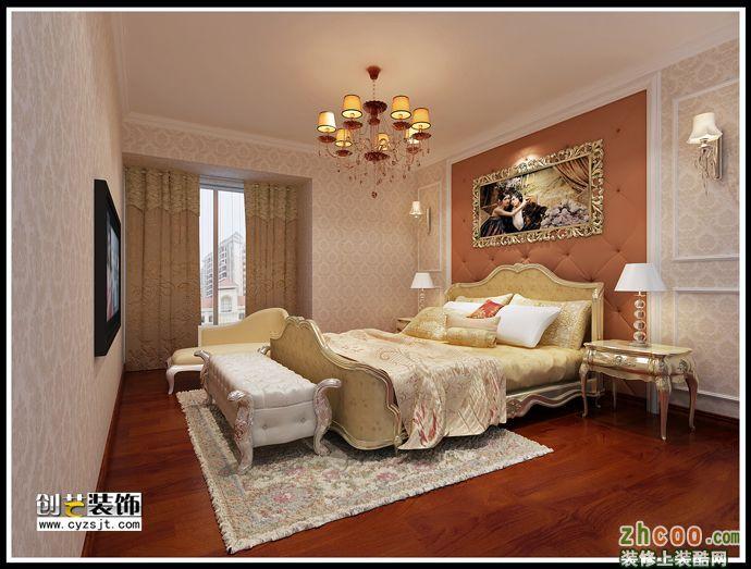 景河星宫欧式奢华风格 欧式风格 四室两厅两卫