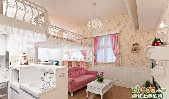 【鑫之家裝飾】完美利用收納空間 華麗裝54平米小戶型