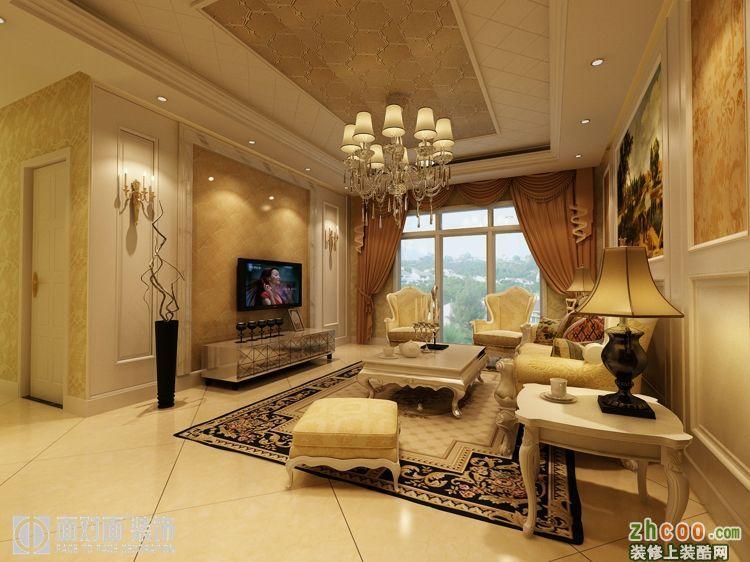 四室两厅两卫欧式装修效果图