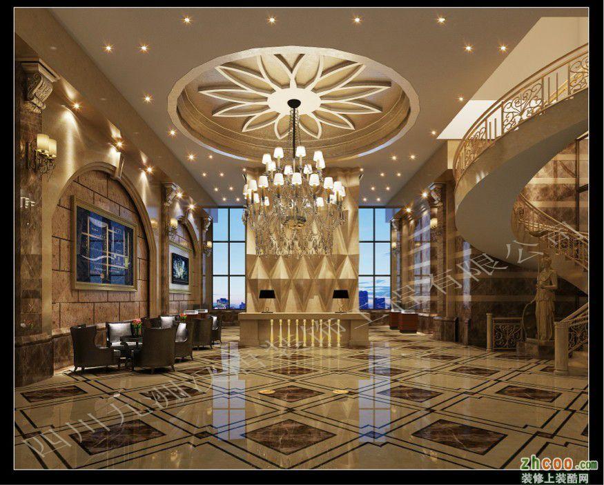 九洲汉唐-彭山皇庭国际售楼部(黄老师) 欧式风格 售楼中心