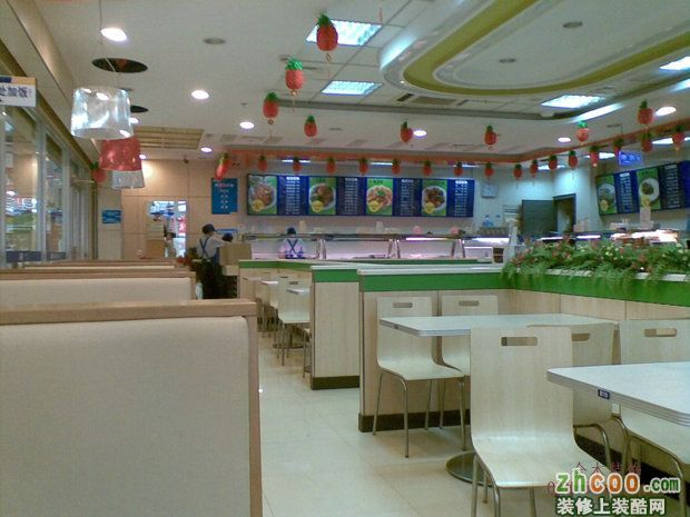【南京全木裝飾】揚州蘇客快餐店