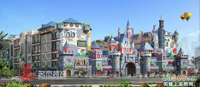 童梦城堡幼儿园设计
