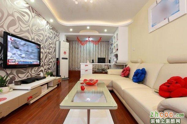 一室一厅一卫现代装修效果图_一室一厅一卫现代装修