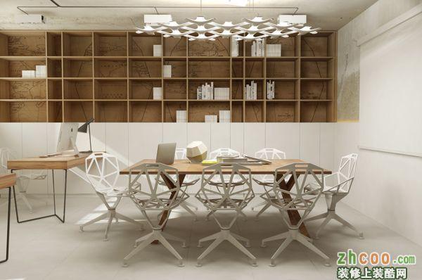 会议室 南坪办公室-北欧风格 【格调装饰】南坪办公室
