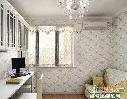 【鑫之家装饰】强化地板 装点90平欧式田园风格小户型