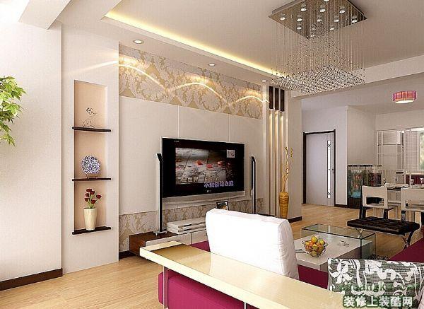 客厅电视背景墙如何搭配?选择什么颜色好看?