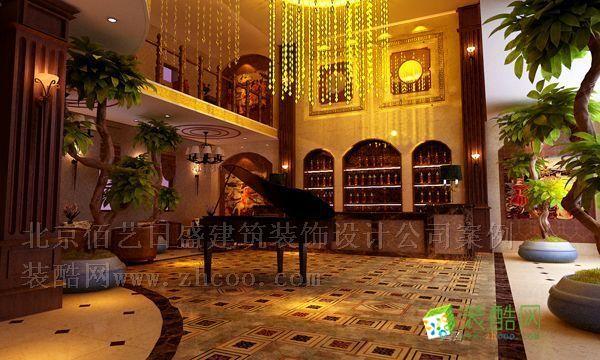 私人会所高档茶餐厅 欧式风格