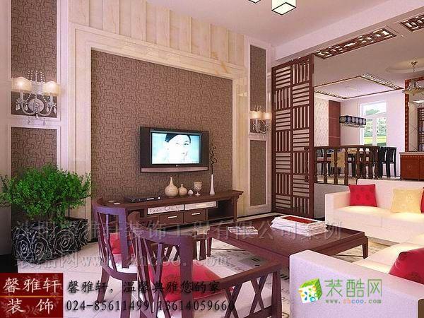 首页 装修案例 新加坡城别墅270 中式风格 跃层住宅