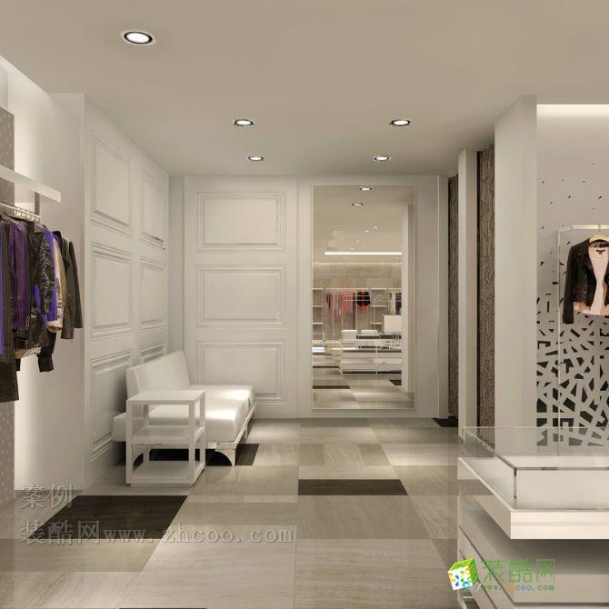 欧式风格小型多品牌服装店设计