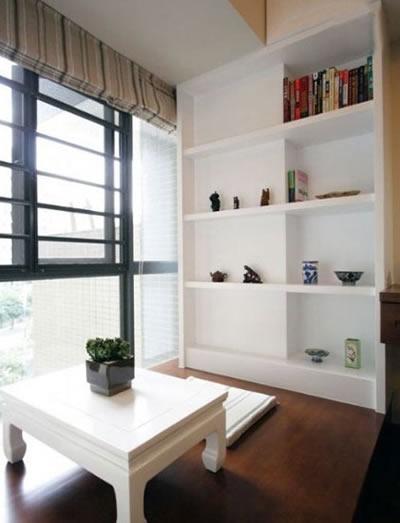 【鑫之家裝飾】80平江南混搭風格 雙陽臺3居改造很劃算