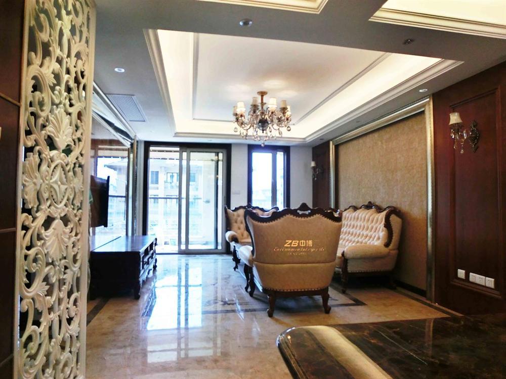 翡翠城150方古典歐式家裝紅木大理石隱貴范兒