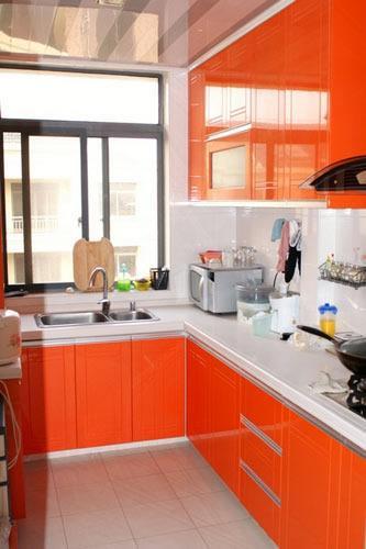 【鑫之家装饰】5万元装带阁楼的橘黄幸福小家
