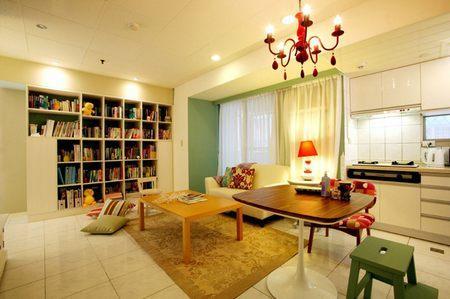 【鑫之家裝飾】小戶型樣板房 80平淺色調曬收納功能