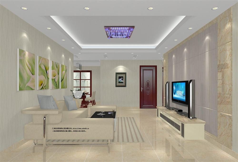 一室一厅一卫现代装修效果图