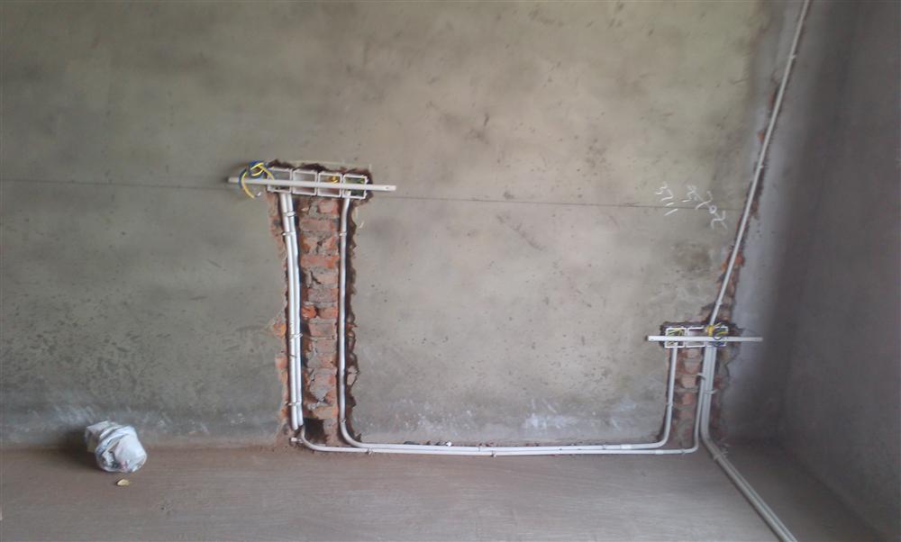微远锦绣花园8幢电路实景图