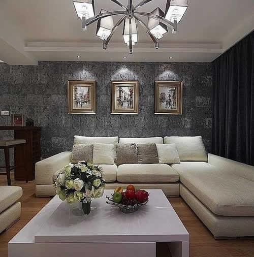 【鑫之家裝飾】綠色清新三居室裝修 雙陽臺完美采光