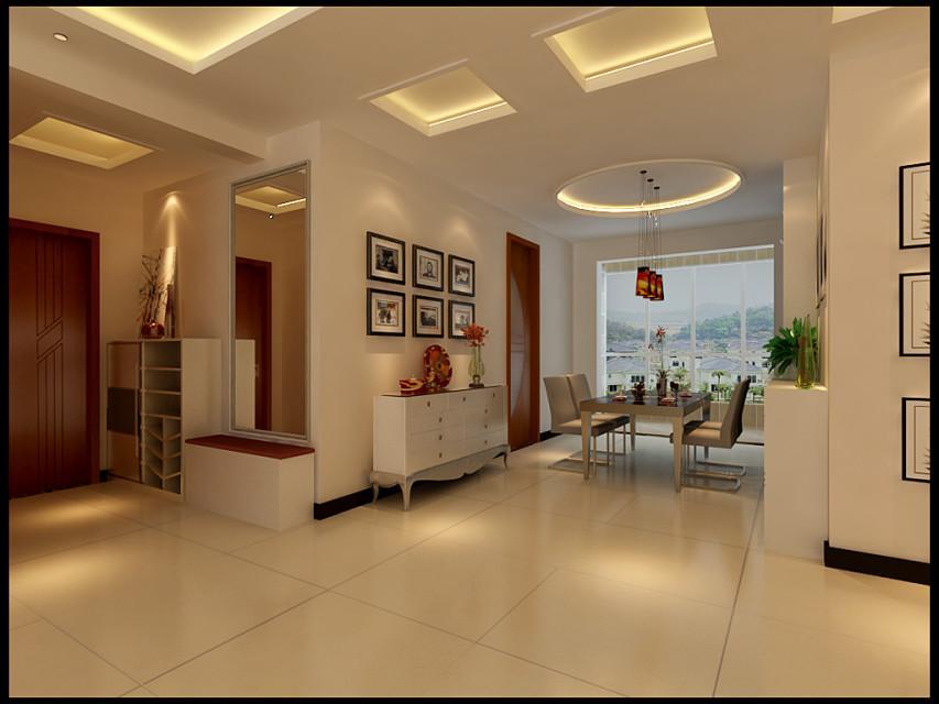 三室两厅一卫简约装修效果图_三室两厅一卫简约装修