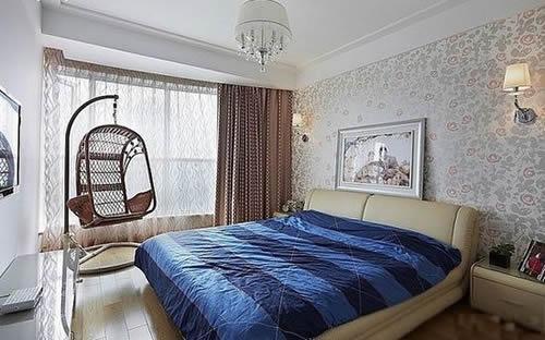 【鑫之家装饰】 清爽大气简约三居 地板铺装宽敞舒适之家