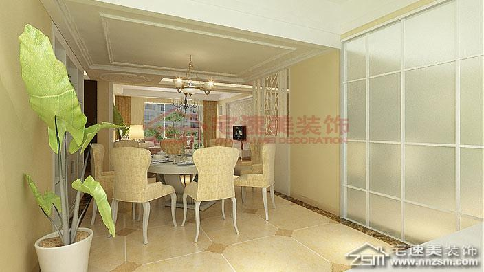 鑫龙小区小区275平米楼中楼简欧风格装修案例 欧式风格 其他