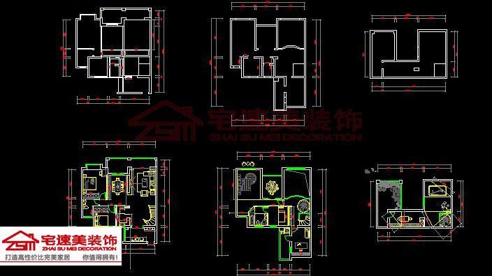 >> 莱茵湖畔小区楼中楼(三层)230㎡欧式风格装修案例