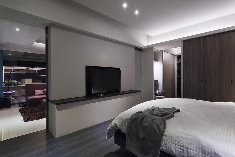 【鑫之家装饰】现代风格一室一厅一卫