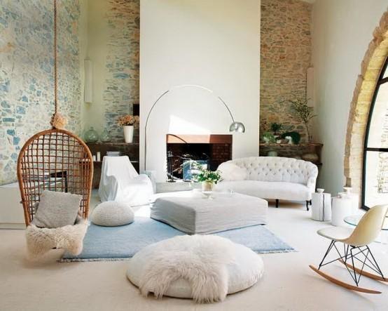 白色调现代住宅