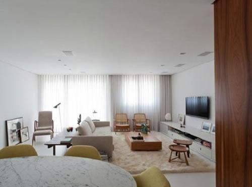 【鑫之家裝飾】橙色室內裝修 打破130平私宅的白色沉寂