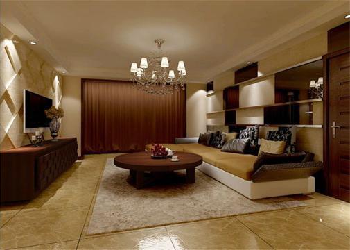 南湖国际社区(现代简约-138平米三居室装修设计)