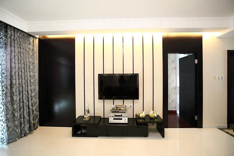 红木林71平两居室现代风格
