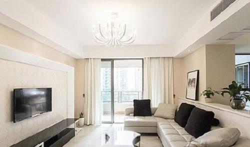 【鑫之家裝飾】6萬搞定100平三室兩廳 時尚潮流結合體