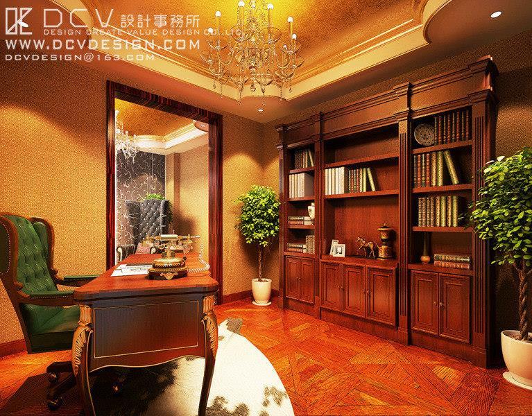 西安家裝住宅室內設計—韓城江南名苑豪宅別墅