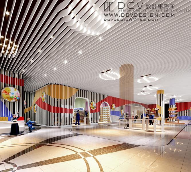 西安休闲娱乐室内设计—府谷金三角儿童乐园 现代风格