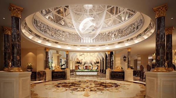 西安售楼会所室内设计—神木华夏首府销售中心 新装饰主义风格
