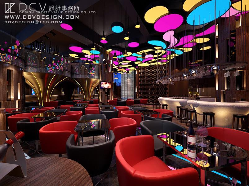 酒吧/复古怀旧风格 西安休闲娱乐室内设计-天品西岸