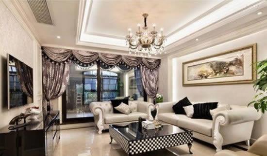 【鑫之家裝飾】混搭風格三室一廳 時代優雅的大氣之家