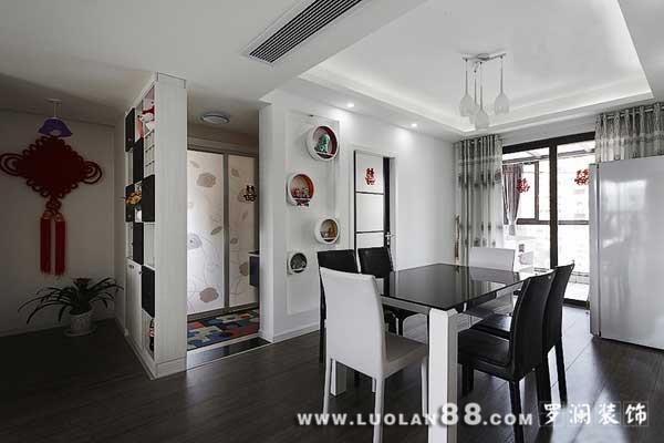 黑白色调公寓 演绎现代简约风格