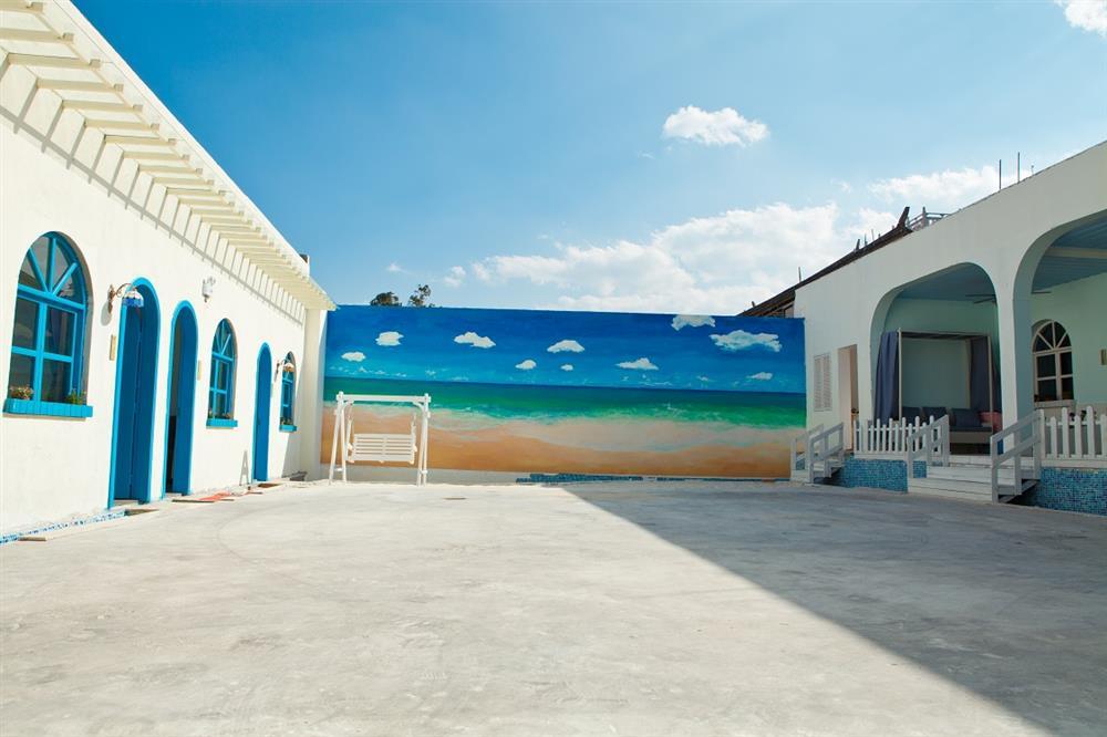 羽翔室内设计古城地中海风格客栈