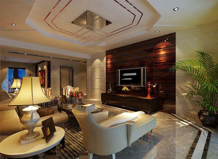 美林湖畔-三居室-140平米-装修设计