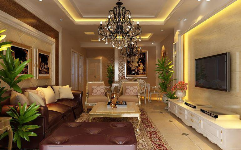 雅居乐御宾府-三居室-115平米-装修设计