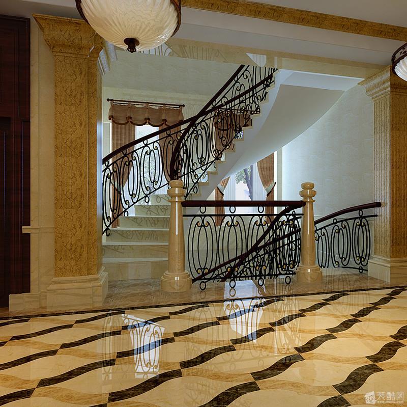 欧式客厅高清效果图效果图