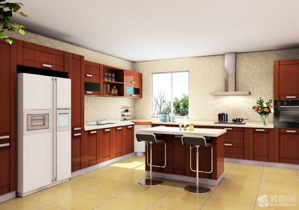 美式厨房设计案例效果图
