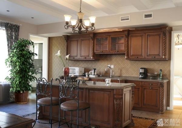 美式厨房设计案例 美式风格 其他