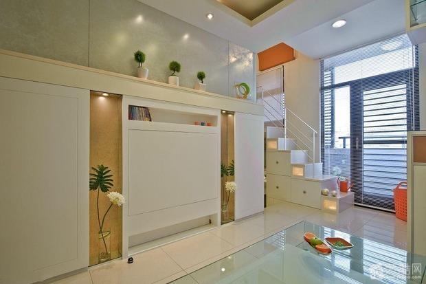 loft小公寓设计案例效果图