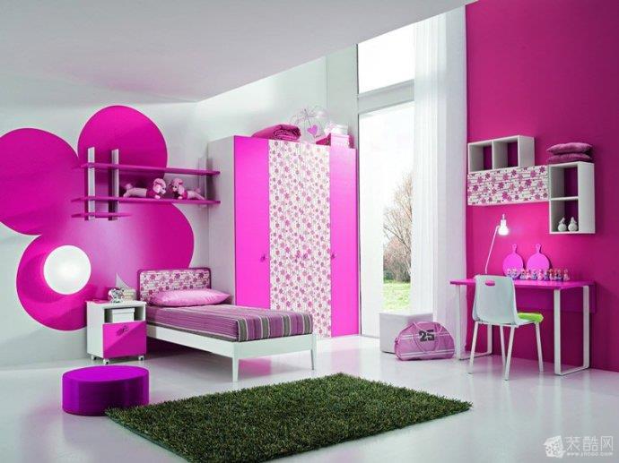 色彩缤纷的儿童房