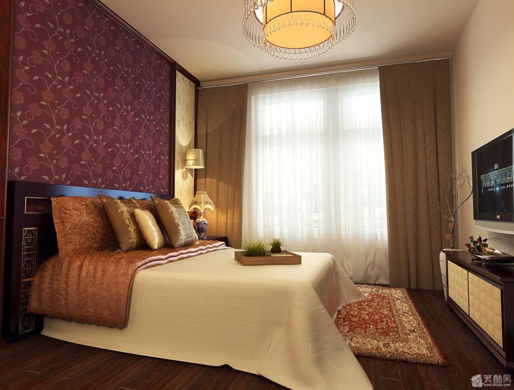 卧室【宜家宜装饰】枕流公寓
