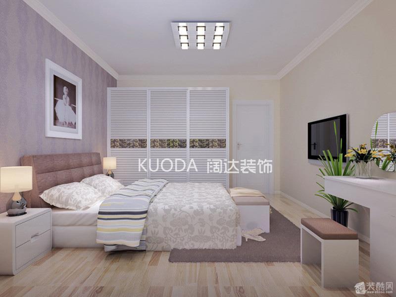 香水小镇3居室131平米现代简约