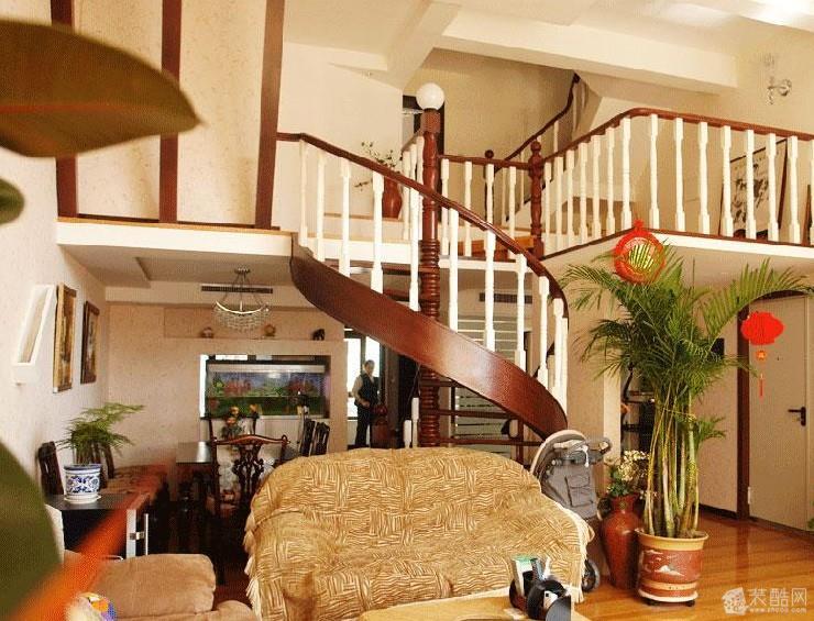 跃层住宅中式图片