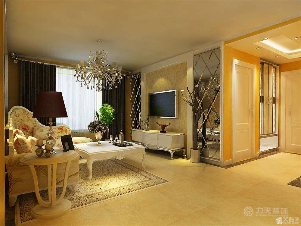 三室两厅一卫欧式装修效果图_三室两厅一卫欧式装修_4